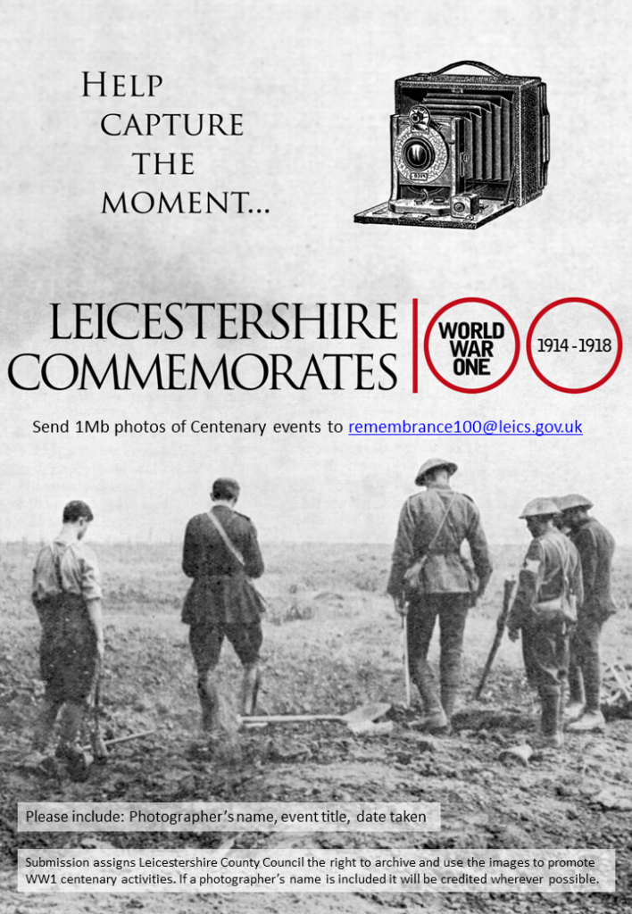 Centenary Photo Appeal Poster