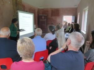 WW1 talk at Cotesbach