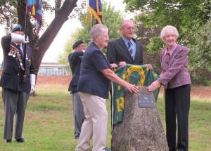 Teigh Memorial Stone Unveiled