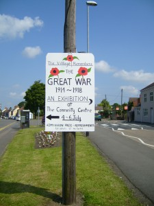 Thringstone WW1 Poster