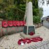 Blackfordby new war memorial