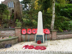 Blackfordby war memorial