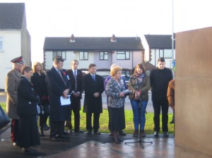 Ellistown Unveils New Memorial