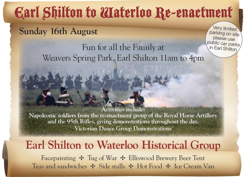 Waterloo Event Flyer