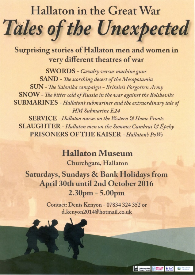 Hallaton 2016 Exhibition Poster